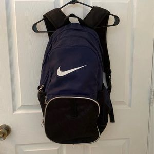 Nike book bag with many compartments